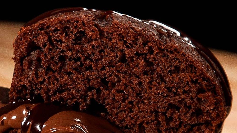 Receta de bizcocho de chocolate esponjoso