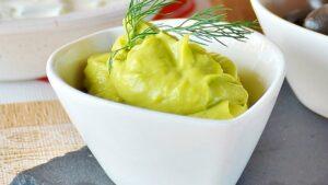 Receta de mayonesa de aguacate y cilantro