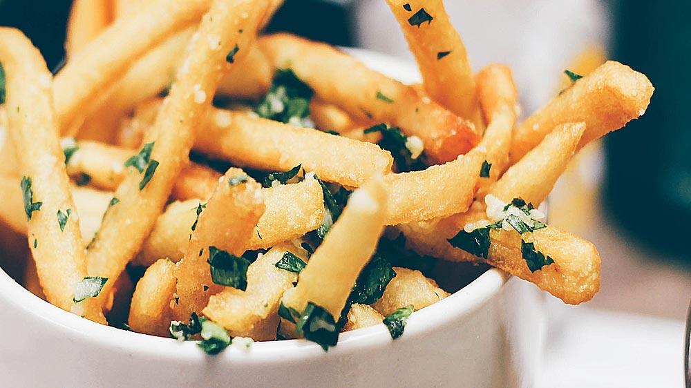 Receta patatas asadas a las finas hierbas