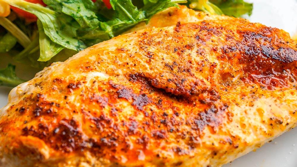 Receta de pechuga de pollo a la mostaza