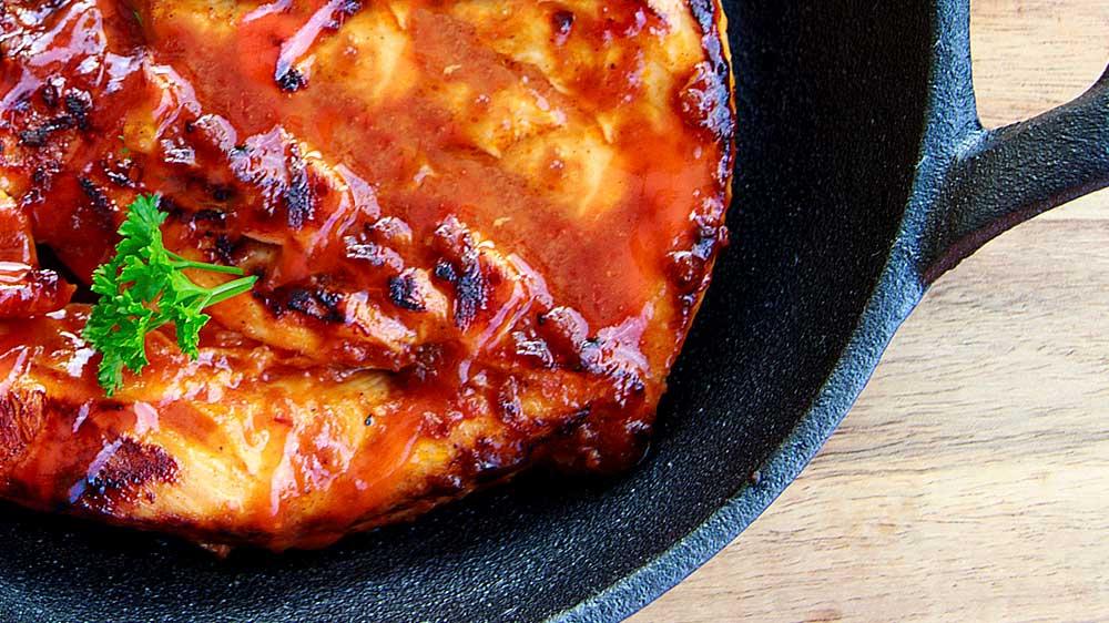 Receta de pechuga de pollo horneada con especias