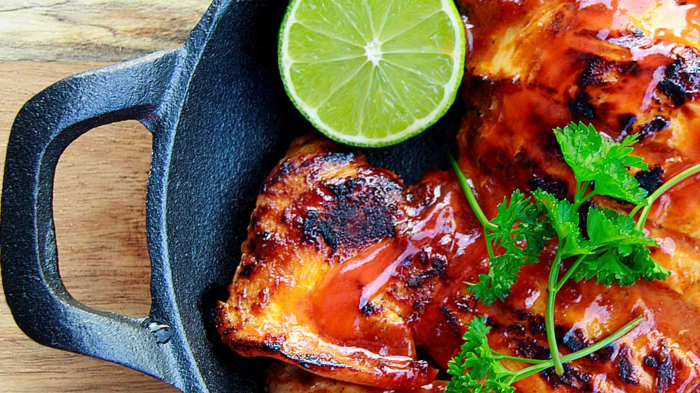 Receta de pollo con especias al estilo marroquí