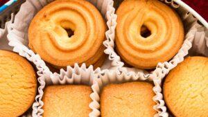 Receta de galletas de mantequilla tipo danesas