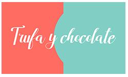 Logo trufa y chocolate