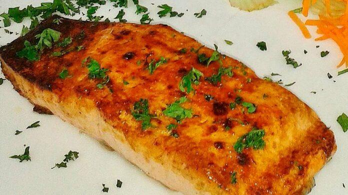 Receta de salmón con glaseado de miel