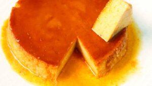 Receta de flan de queso