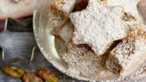 Receta de galletas de pistachos