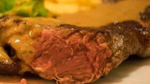 Receta de ternera con salsa de foie