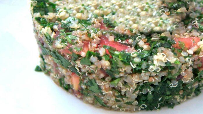 Receta de muffins de quinoa con champiñones