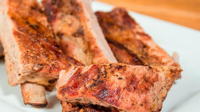 Receta de costillas de cerdo a la mostaza antigua