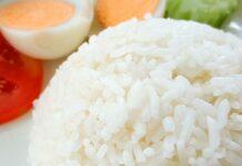Receta de arroz blanco con matequilla