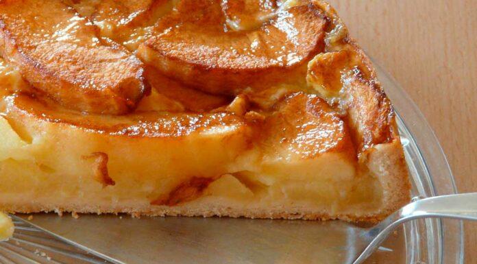 Receta de bizcocho de avena y manzana y sin huevo