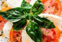 Receta de deliciosa ensalada caprese