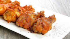 Receta de muslos de pollo al horno con mostaza y ajo