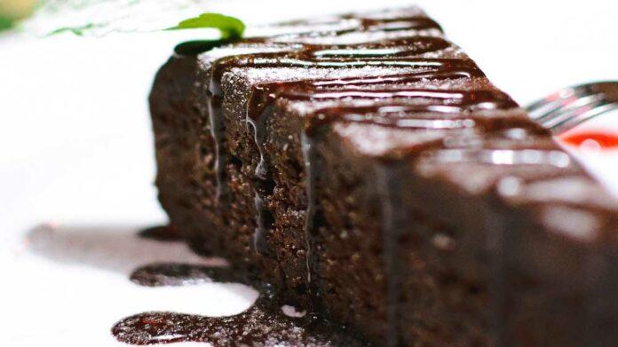 Receta de pastel de chocolate jugoso
