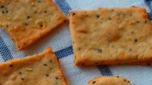 Receta de galletitas saladas y especiadas