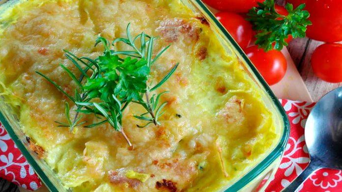 Recetas de patatas gratinadas con queso y bacon