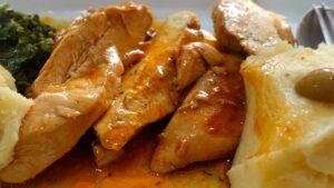 Receta de pollo en salsa