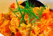 Receta de arroz con tomate