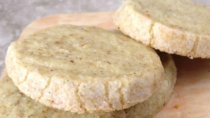Receta de galletas de romero y limón