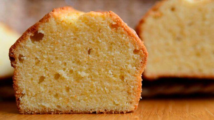 Receta de bizcocho de mantequilla o pound cake