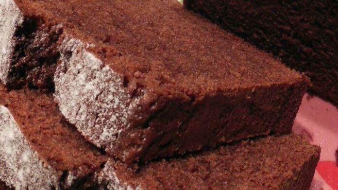 Receta de pastel esponjoso de chocolate
