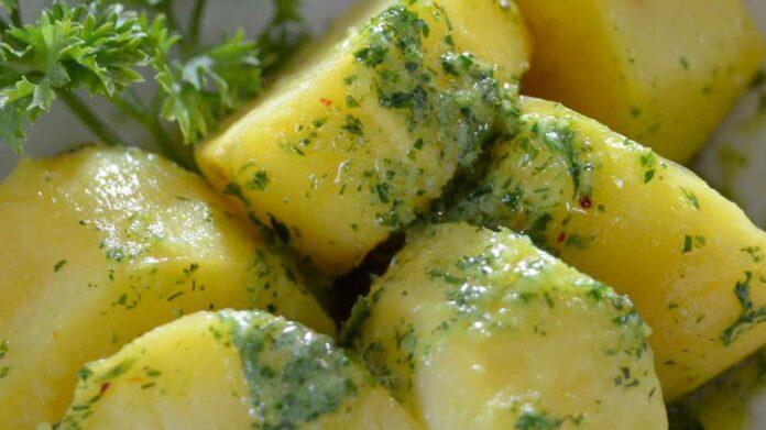 Recetas de patatas al cilantro