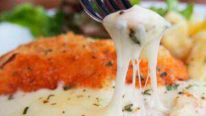 Receta de pechuga de pollo con queso brie