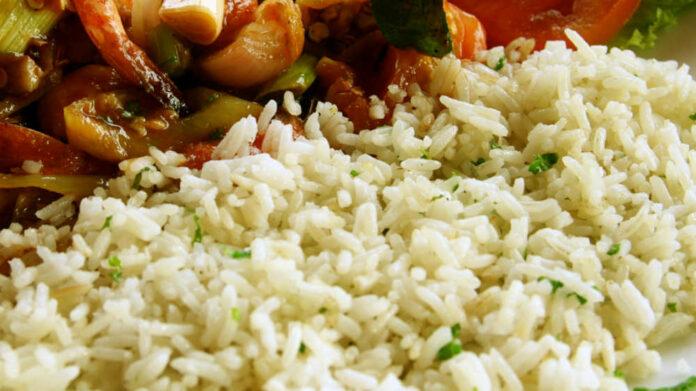 Receta de arroz con perejil y cilantro