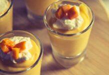Receta de mousse de mango rápida