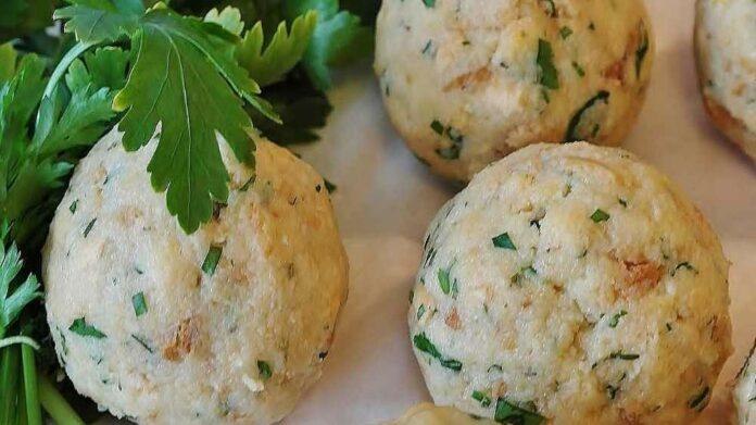 Receta de bolitas de patata y calabacin