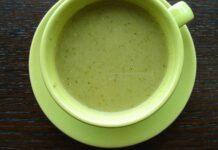 Receta de crema de calabacin, brocoli y puerro