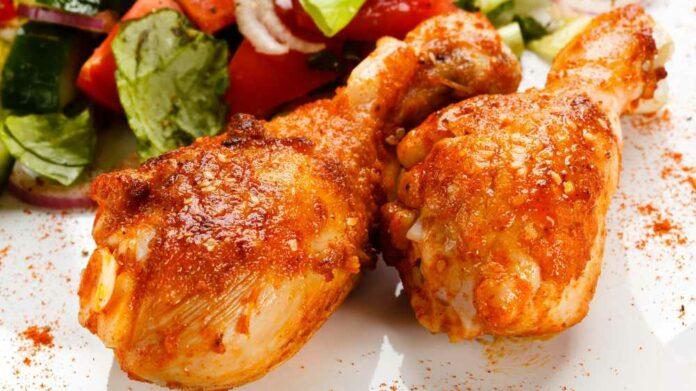Receta de muslos de pollo horneados con paprika