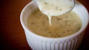 Receta de salsa de ajo
