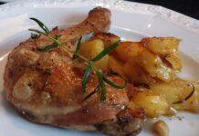 Receta de alitas de pollo marinadas al limon