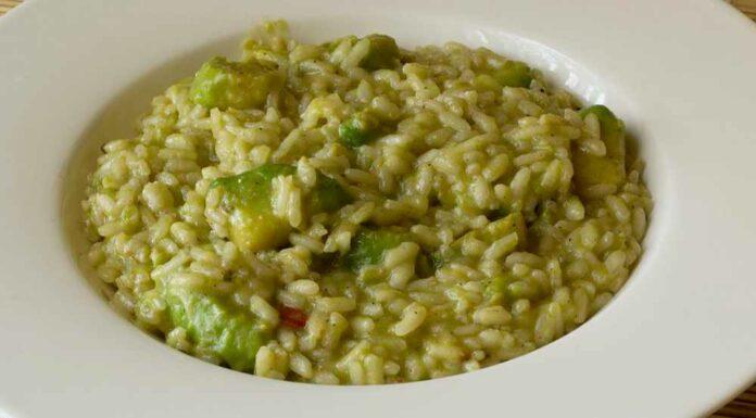 Receta de risotto de pesto
