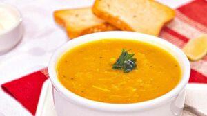 Receta de sopa de merluza