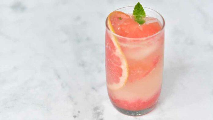 Receta de pink lemonade