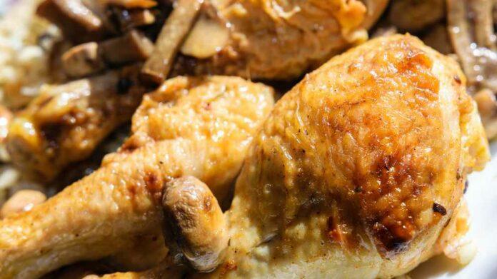 Receta de pollo a la manzana