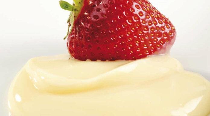 Receta de crema de limón para relleno de postres