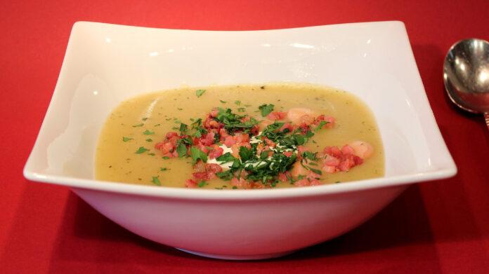 Receta de sopa de arroz