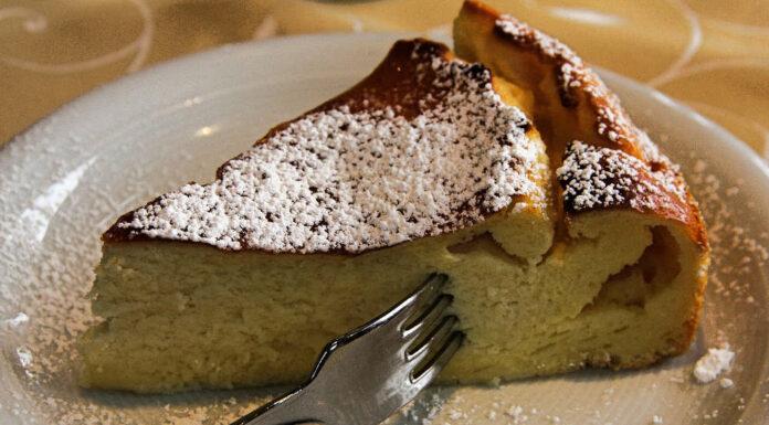 Receta de tarta de pan con canela y limón