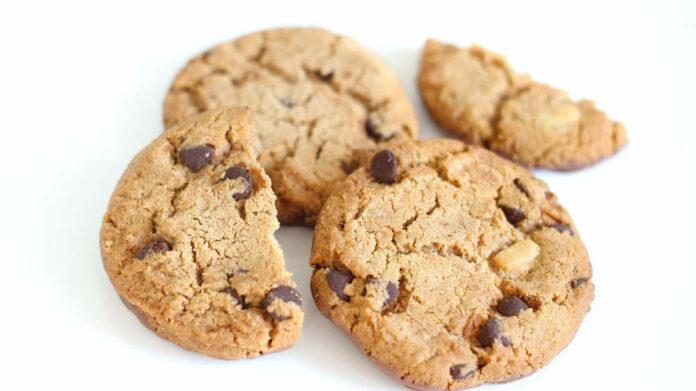 Receta de galletas con harina de almendras y chocolate