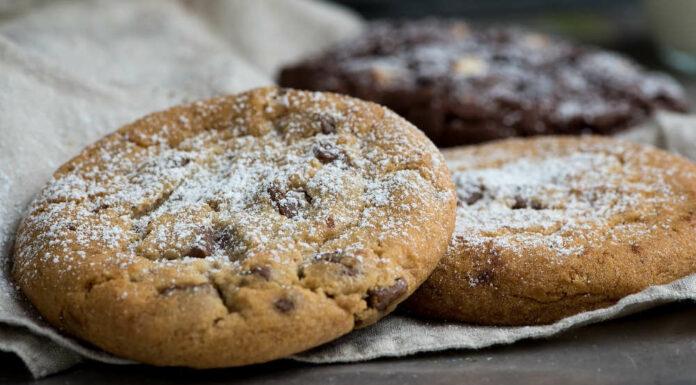 Receta de galletas de calabaza y chocolate