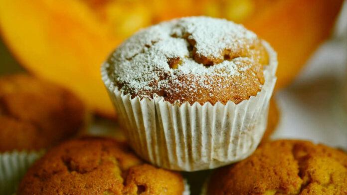 Receta de muffins de calabaza